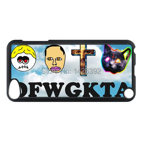 Odd Future Wolf Gang Kill Them All mobile cell phone case For IPod Touch 5/5G/5th/for ipod 4/4g/4th Covers cover skin(China (Mainland))