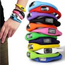 Retail/wholesale Hot Arrival anion silicone waterproof sports digital wrist watch gift for fashion men women Free Shipping