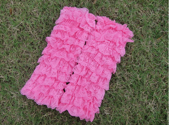 Baby Girls Lace Petti Ruffles Leg Arm Warmers for Rompers Tutu Legging Socks Birthday gifts free shipping