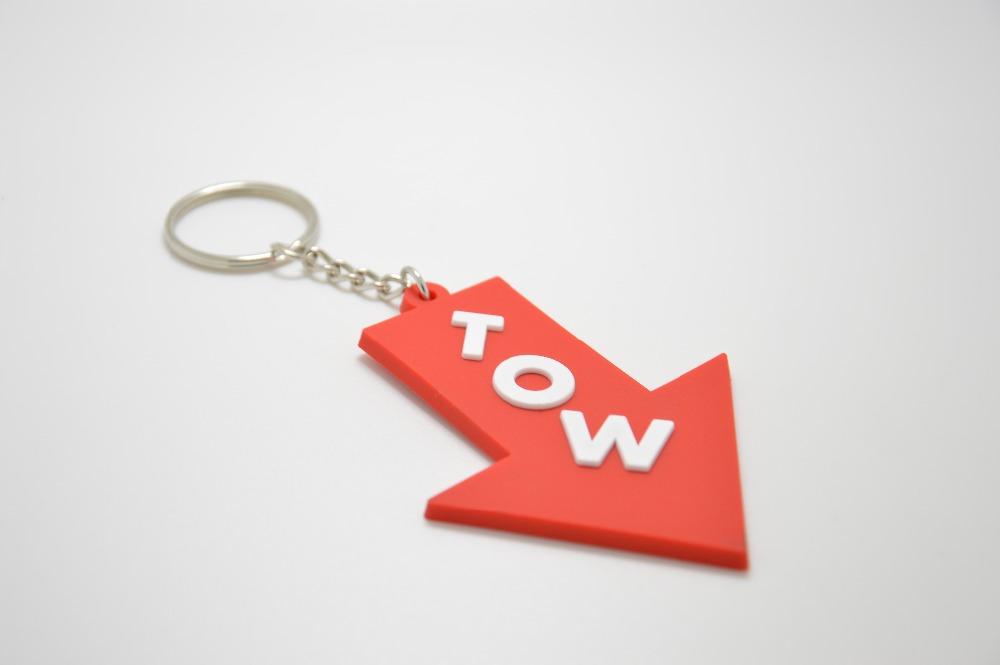 RED TOW JDM keychain nos turbo keyring Shocker hand keychain NOS TURBO(China (Mainland))