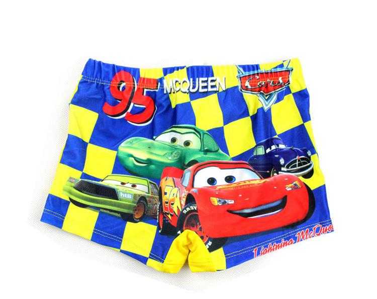 New 2015 Children Trunks Summer Boys Character Swimsuit Baby Kids Spiderman Spongebob Beach Swimwear Boy Swimming Shorts(China (Mainland))