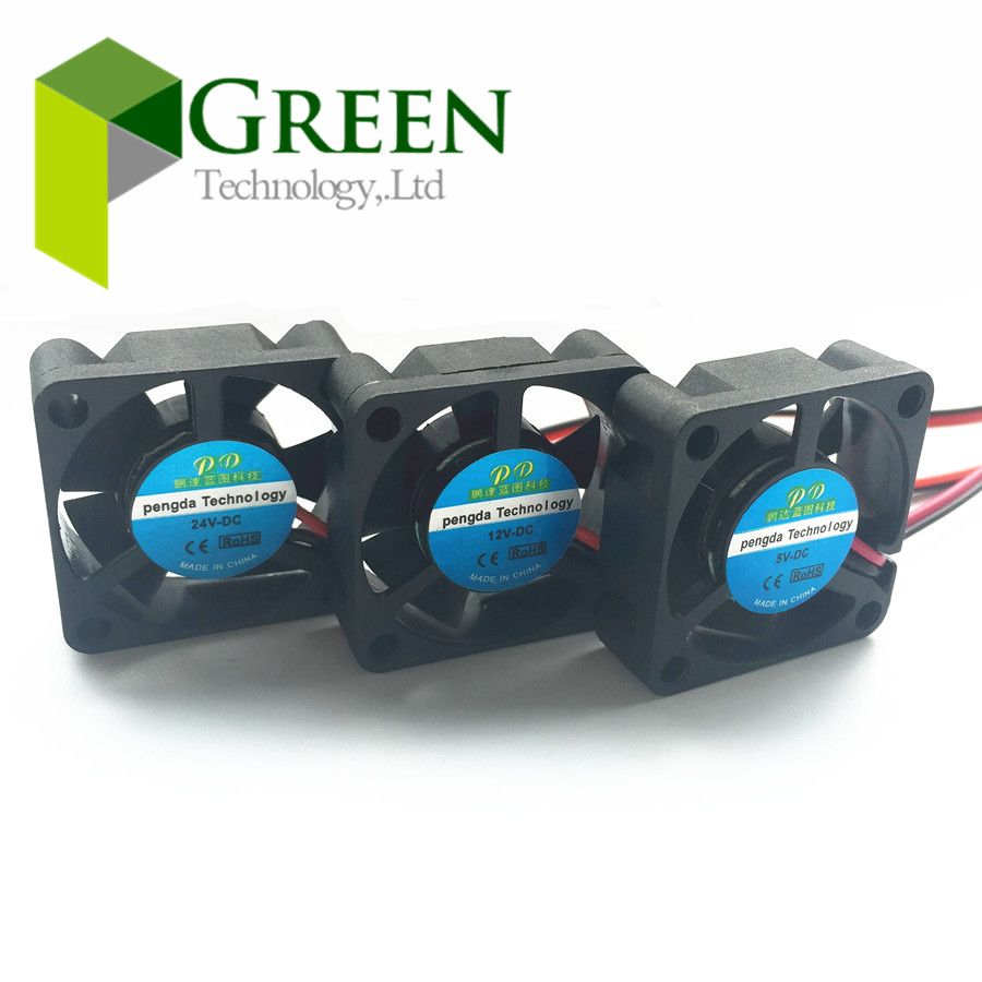 NEW 3010 30MM 30*30*10MM 3cm Graphics card fan Cooling fan 5V 12V 24V 0.1A with 2pin 5pcs(China (Mainland))