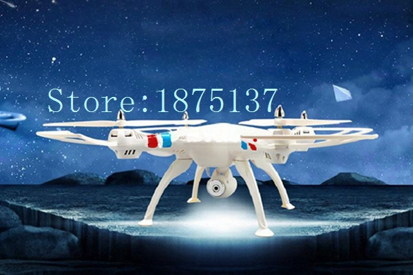 Free Shipping Quadcopter With Camera Syma X8C 2.4G 4ch 6 Axis with 2MP Wide Angle Camera RC Helicopter RTF Drone with Camera(China (Mainland))