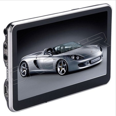 5 Inch Car GPS Navigator Without Bluetooth 4GB Memorey Load 3D Map