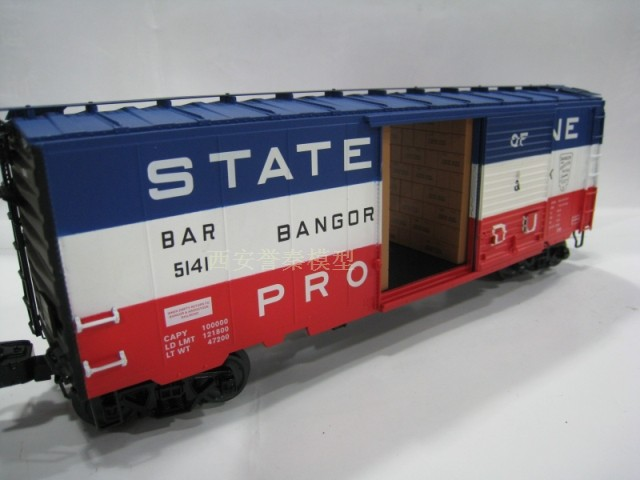LIONEL O 1/48 America proportion of train carriage model Yuan Bao genuine 6-27876(China (Mainland))