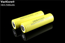 Buy 100% New Original HE4 18650 Rechargeable li-lon battery 3.6V 2500mAh Battery can keep LG Electronic cigarette 20A discharge for $3.56 in AliExpress store