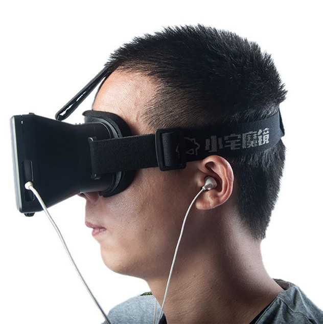 Virtual Reality VR Mobile Phone 3D Glasses Movies Games Resin Lens 3.5 5.7 inch Smartphone - WAVE GROUP store