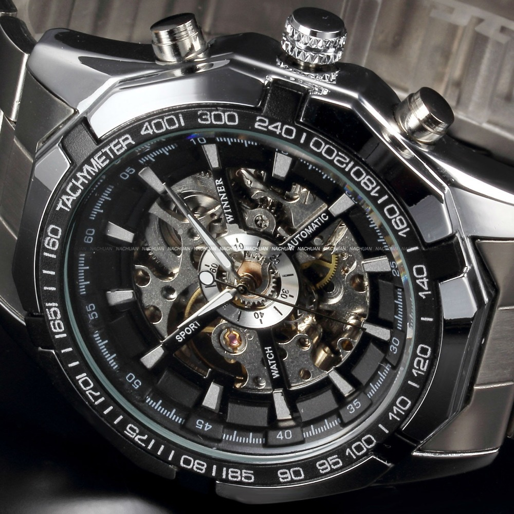 metal titan in transparent date watches mens men en watch regalia