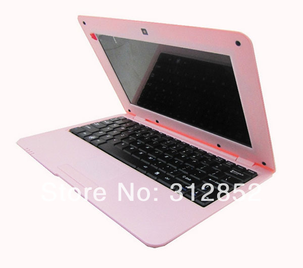 Cheap mini laptop 10inch VIA8850 netbook Android 4.0.1 Mini Notebook free shipping(China (Mainland))