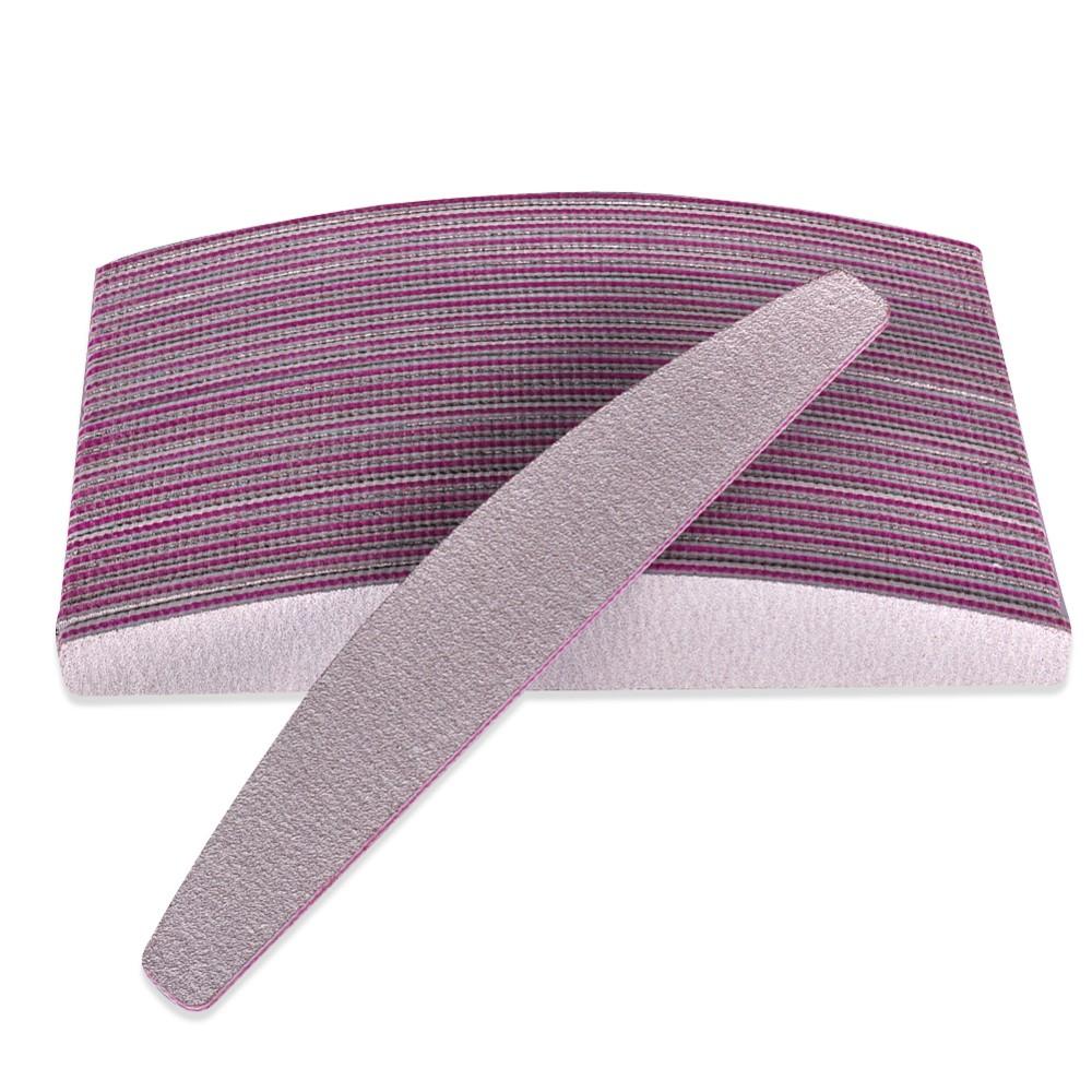 10PCS / lot Pro 100/180 Slim Gray Nail Buffer Sanding Sandpaper Nail Files Manicure Pedicure Nail Art Tool(China (Mainland))