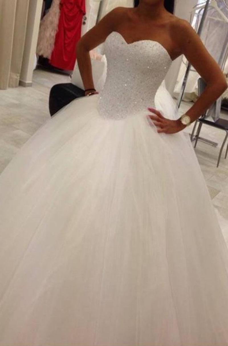 Achetez en gros rose et blanc de mariage robes en ligne for Fournisseurs de robe de mariage en gros