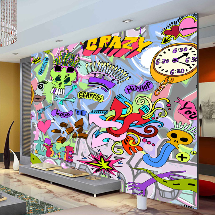 Gallery For Graffiti Wallpapers For Bedrooms