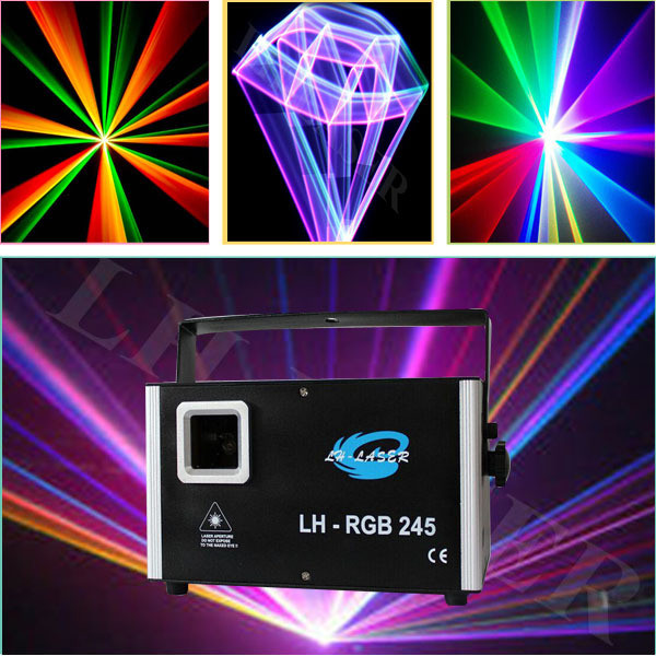 2000mW SD+TTL+30kpps RGB Animation laser light free ishow software from lh-laser company(China (Mainland))