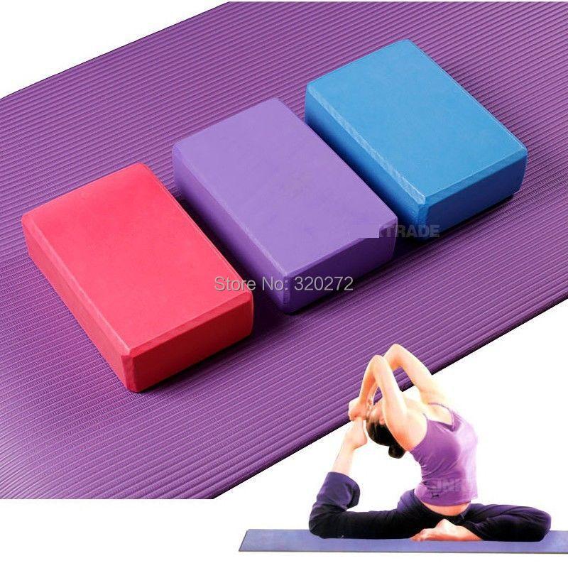 Yoga pillows block brick yoga forming form home exercise fitness equipment brand new gym sport - B&M E-Commerce Co.,Ltd store