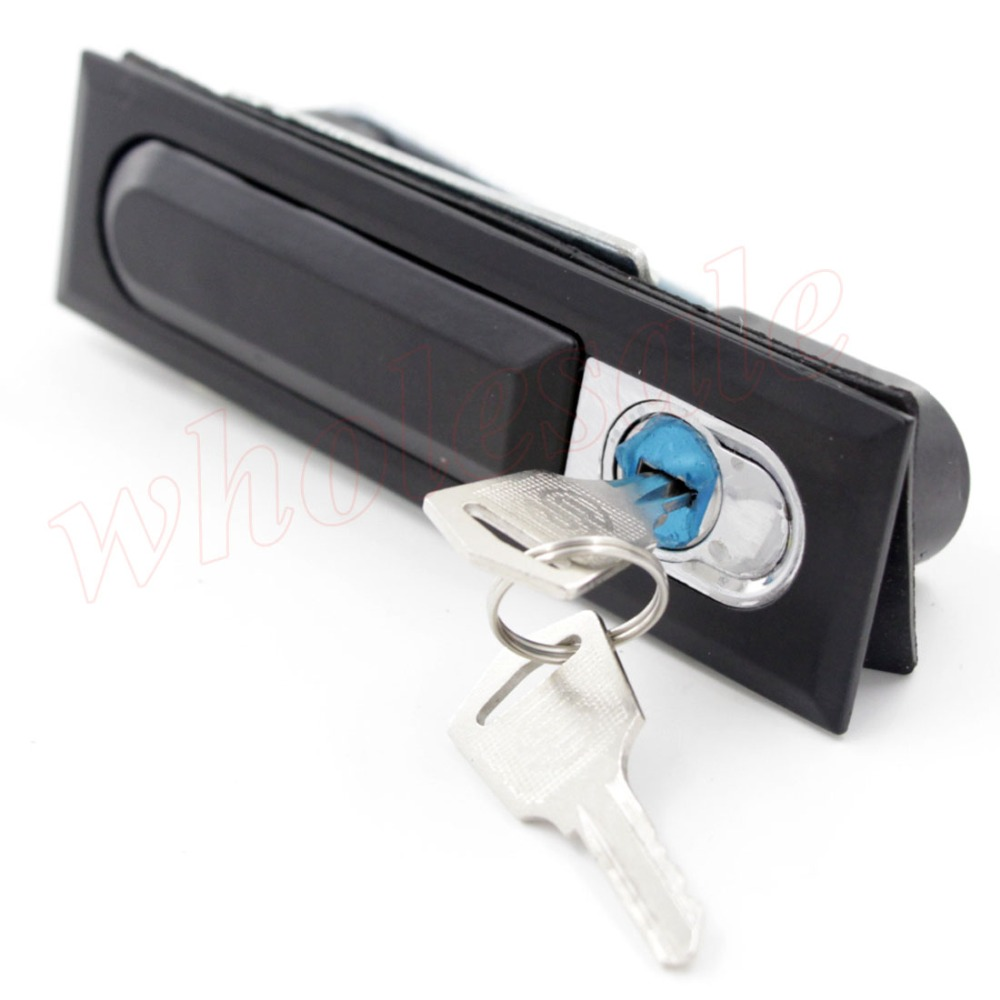 High Quality of MS618 Pop Up Metal Black Plane Lock Distribution Box Lock 2pcs/lot for Wholesale(China (Mainland))