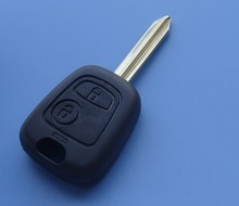 NEW Replacement 2 button remote key shell for Peugeot Partner Expert Boxe FOB CASE car key