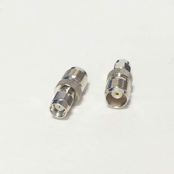 NEW TNC Female Jack switch RP SMA Male Plug RF Coax Adapter convertor Straight Nickelplated wholesale