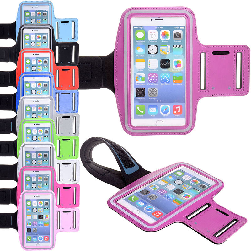 Holder Waterproof outdoor Adjustable Running SPORT Jogging arm band case cover for Motorola Moto E 4.3'' mobile phone(China (Mainland))