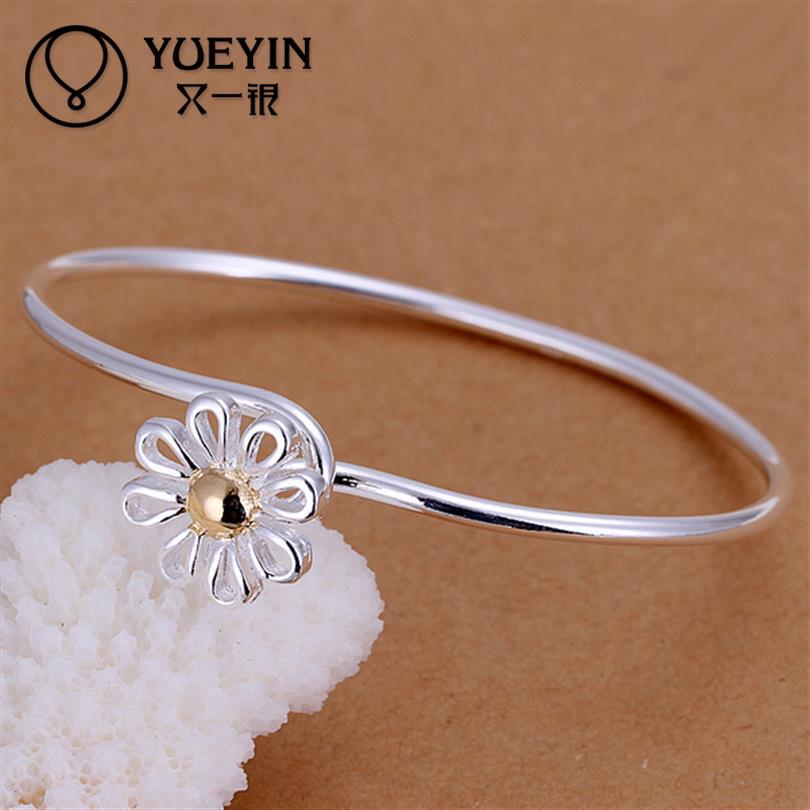 YUEYIN Pulseira Bracelets Bangles Bangle Silver BraceletBracelet Femme Silver 925 Jewelry Upper Arm Bracelet Braceletes (China (Mainland))