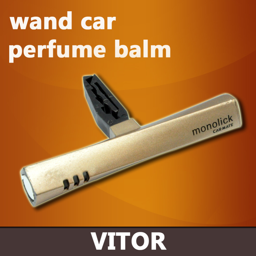 2015 Hot Magic Wand Car Perfume Balm Car Air Freshener Air Conditioner Original Monolick Fragrance Perfume Stick #VQ321-2(China (Mainland))
