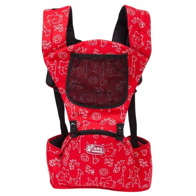 Регулируемые плечи объятия младенцев талии стул с молния рюкзак обернуть райдер малыша ...