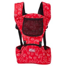 Adjustable Shoulders Embrace Babies Waist Stool with Zipper Baby Backpack Wrap Rider Toddler Sling Conform Ergonomic Carrier New(China (Mainland))