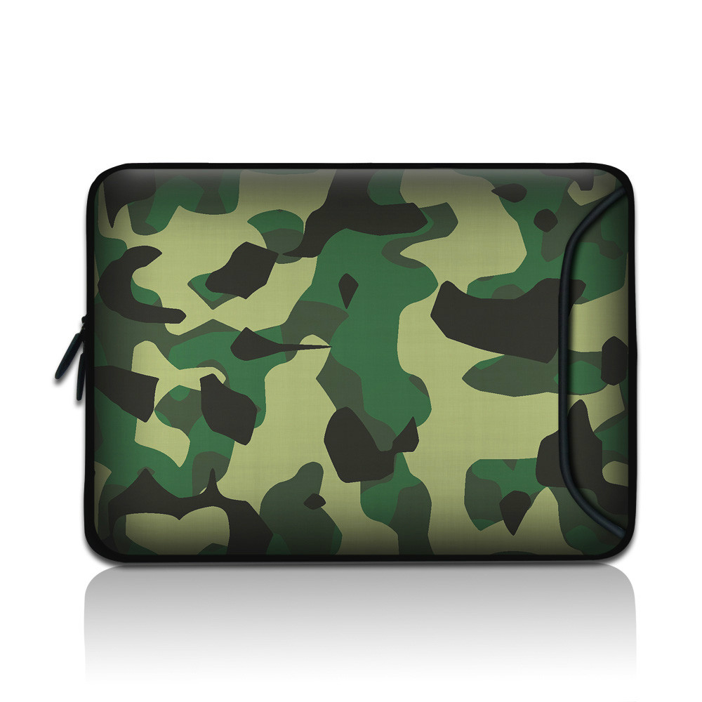 6.7'' 7'' 8'' Laptop Netbook Bag Case Cover for Apple Sumsung ASUS Acer Fasion Camouflage Vivid Print Tracking Number