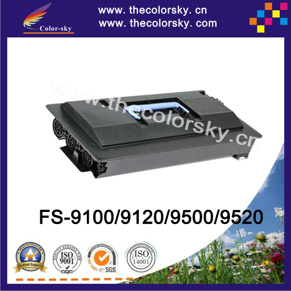 (CS-TK70) BK compatible toner printer cartridge for Kyocera TK70 TK76 FS9100DN FS9120DN FS9500DN FS9520DN (40k pages)<br>