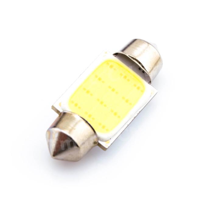 1Pcs Super Bright 36mm C5W DC12V Led Dome Festoon Reading Lighting COB 12 Chips Auto Car Light Lamp Bulb(China (Mainland))