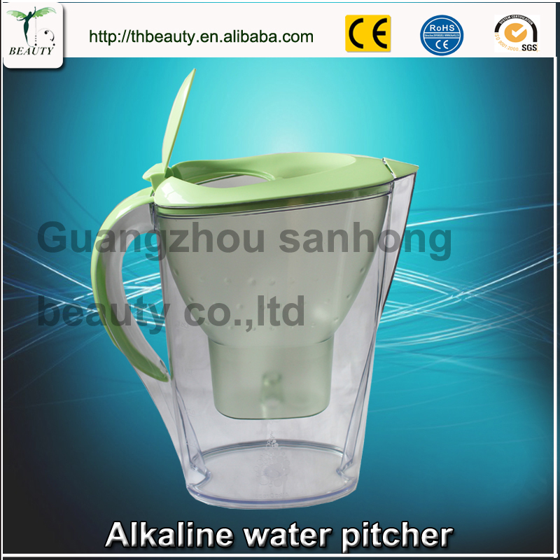 2015 Household Water Purifier Direct Drinking Water Jug Alkaline Water Pitcher Ionizer Water DHL free shipping(China (Mainland))