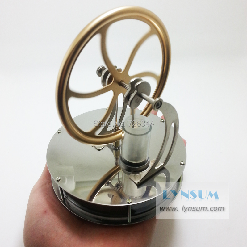 Детский набор для моделирования Low Temperature Stirling Engine Model Stirling LS001 diy low temperature stirling engine educational puzzle toy kit silver