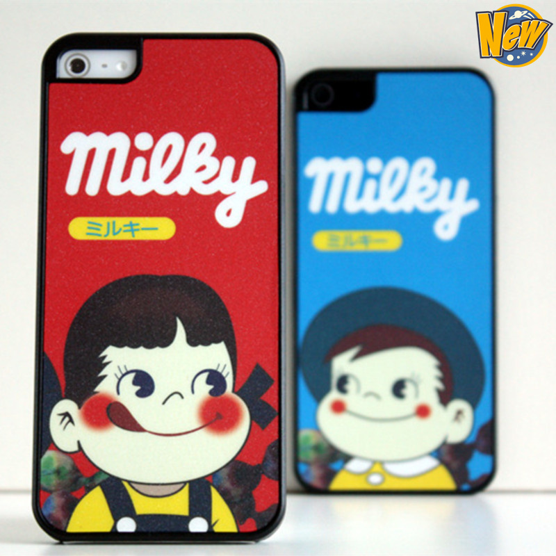 2014 New Style Lovely cute sweet milk sugar girl pattern phone case iphone 5G 5S - Shenzhen Gedson Trading Co.,Ltd store
