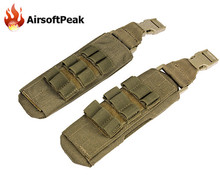 Waterproof Quick-dry Nylon Molle Shoulder Pad Outdoor Military Backpack Armor Carrier Shoulder Strap For Tactical Vest 6094(China (Mainland))