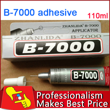 1PCS 110ML B-7000 adhesive glue stick for samsung iphone HTC all kinds of fields free shipping(China (Mainland))