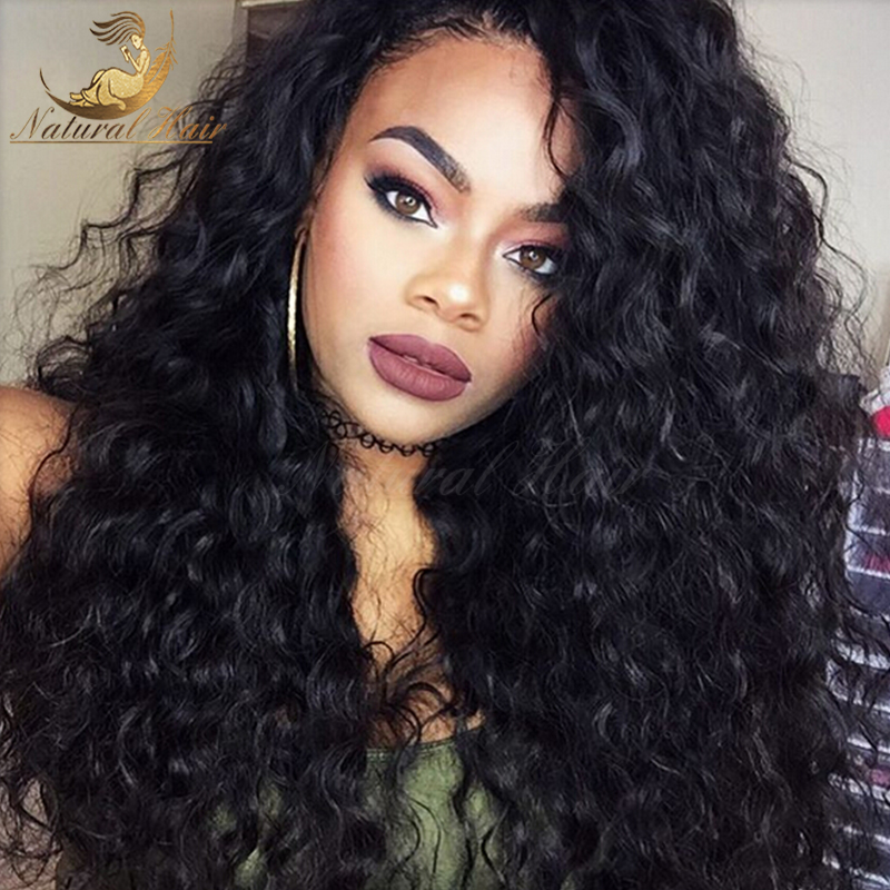 7A Ombre Glueless Full Lace Human Hair Wigs Ombre Lace Front Human Hair Wigs Two Tone Color Kinky Curly Ombre Human Hair Wig