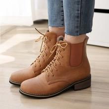 Short Combat Boots For Women - Boot Ri
