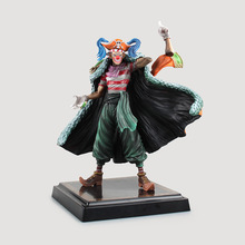 One Piece Buggy Action Figure 1/7 scale painted figure C Ver. Buggy Joker Chop-Chop Fruit Doll PVC ACGN figure Brinquedos Anime