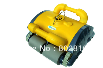 China orginal Swimming pool automatic cleaning equipment,Newest type best design robotic pool cleaner  with Remote controller