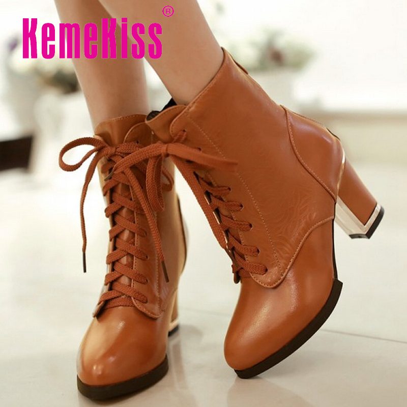 women high heel ankle boots half short boot equestrian autumn winter botas fashion sexy footwear quality shoes P20508 size 34-43<br><br>Aliexpress