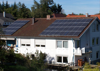 tsunenergy 9KW home solar energy system include solar panel,9kw solar inverter and other parts,without solar battery