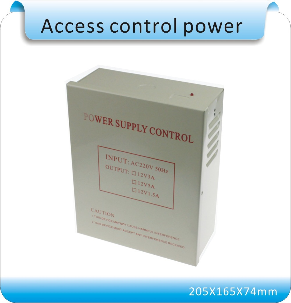 DC 12V 5A  New Door Access Control system Switch Power Supply  input AC 110~240V<br><br>Aliexpress