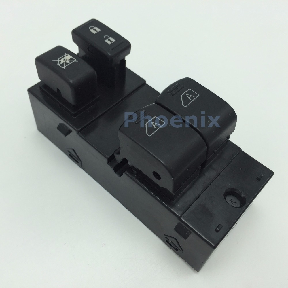 New Electric Power Window Master Control Switch Fit NISSAN NV200 2013-2015 OEM No. 25401-3LM0B - Phoenix Auto Parts store
