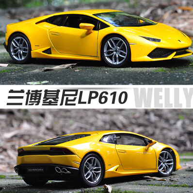 lp610 Gallardo Super Cars Toy Reventon Automobili S.p.A Miura Classical 1:24 Diecast Metal Miniature Model Gift Collection car(China (Mainland))