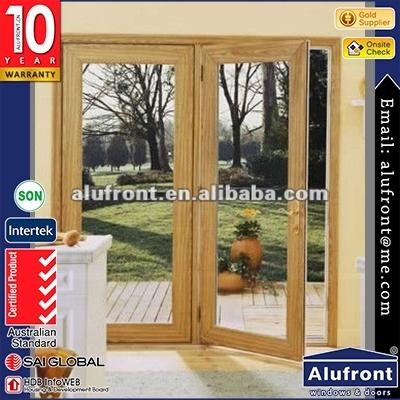 60UPVC Aluminum hinges door with AS standard made in Guangzhou