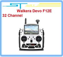 2pcs/lot 2014 Walkera Devo F12E FPV Transmitter Build-in 32 Channel Telemetry Radio for H500 X350 pro X800 RC Drone qua boy gift