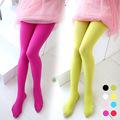 Children warm leggings girls stocking candy color stretch velvet girls kids soft pantyhose opaque dance leggings