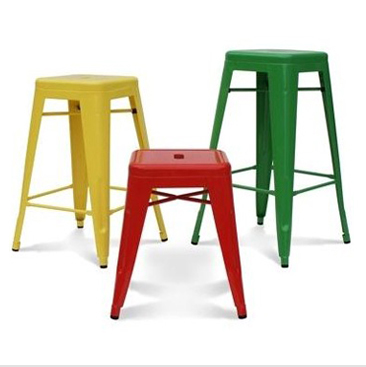 Two from the new European iron bar chair chairs reception desk highchair home Barstool(China (Mainland))