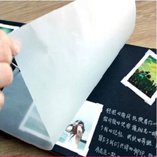 2015 new arrival 10 inch wax paper for diy photo album to protect your photo 30 pieces a lot PP006(China (Mainland))