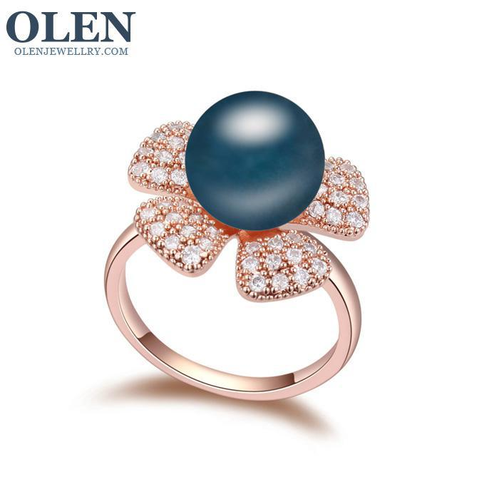 Large pearl rings : Large size big pearl ring fashion accessories cc r in