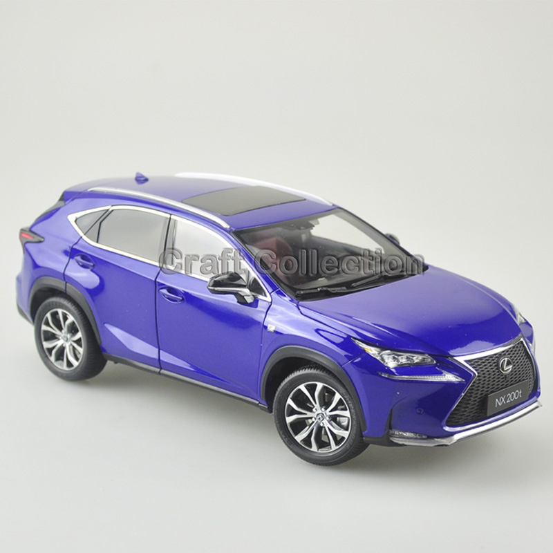 * Blue 1/18 Scale LEXUS NX200t NX SUV Luxury Collection Diecast Model Car Aluminum Several Colors<br><br>Aliexpress